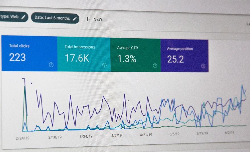 numero de visitas com seo